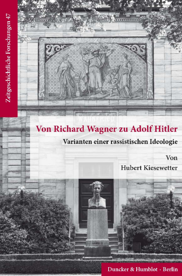 Cover Von Richard Wagner zu Adolf Hitler