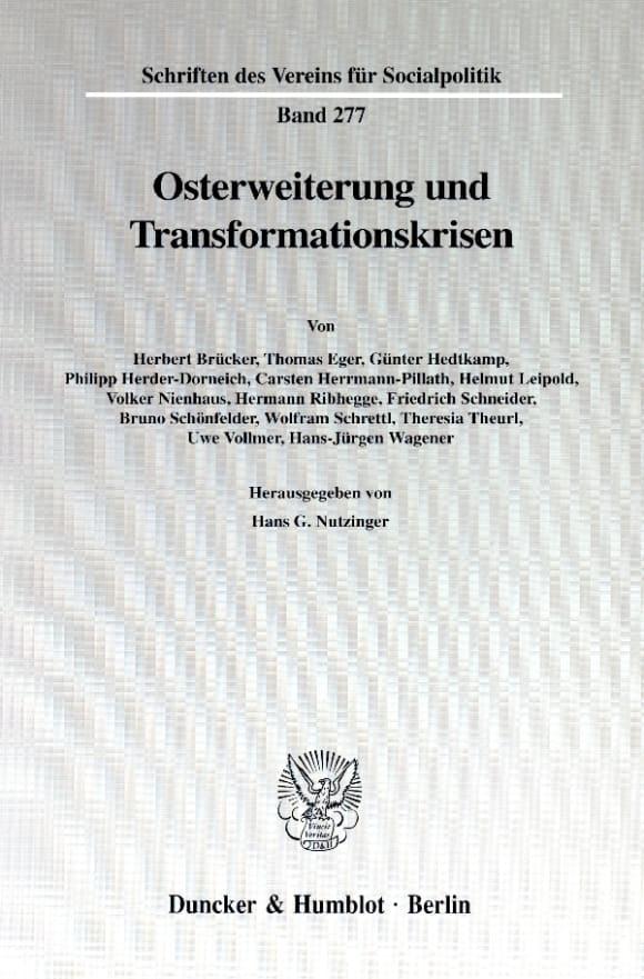 Cover Osterweiterung und Transformationskrisen