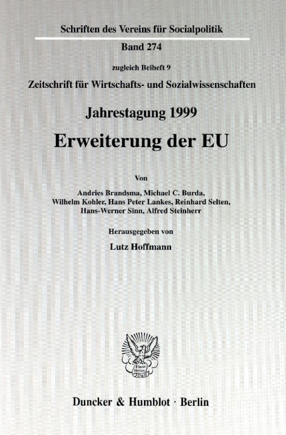 Cover Erweiterung der EU