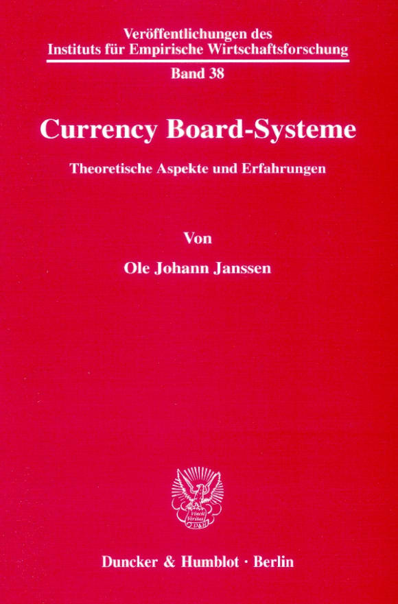 Cover Currency Board-Systeme