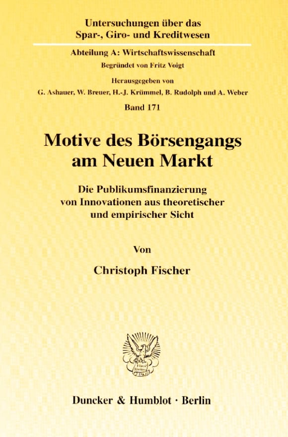 Cover Motive des Börsengangs am Neuen Markt