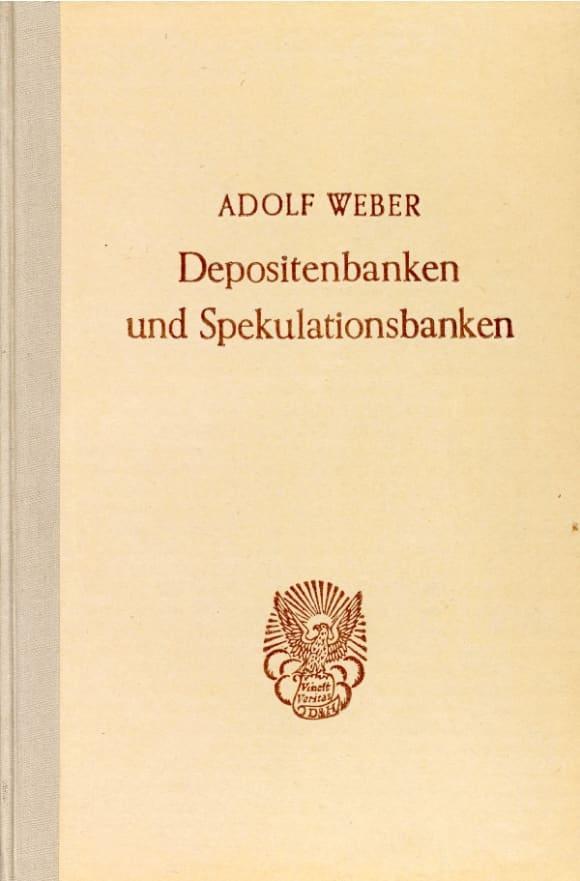 Cover Depositenbanken und Spekulationsbanken