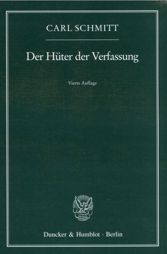 Cover Der Hüter der Verfassung
