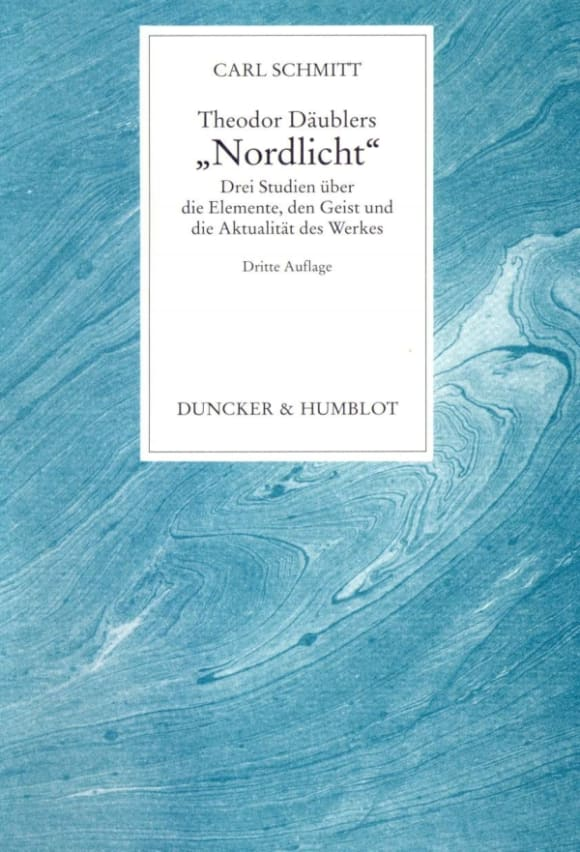 Cover Theodor Däublers »Nordlicht«