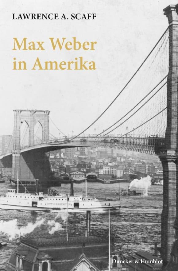 Cover Max Weber in Amerika