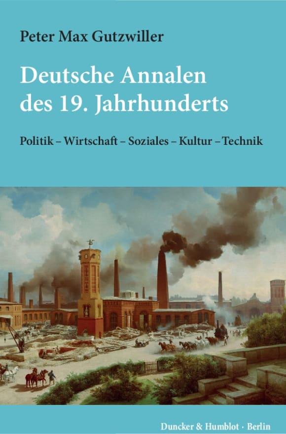 Cover Deutsche Annalen des 19. Jahrhunderts