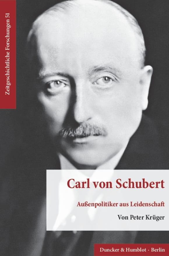Cover Carl von Schubert