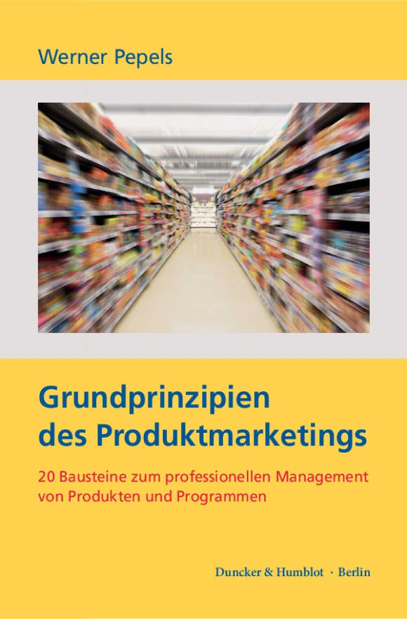 Cover Grundprinzipien des Produktmarketings