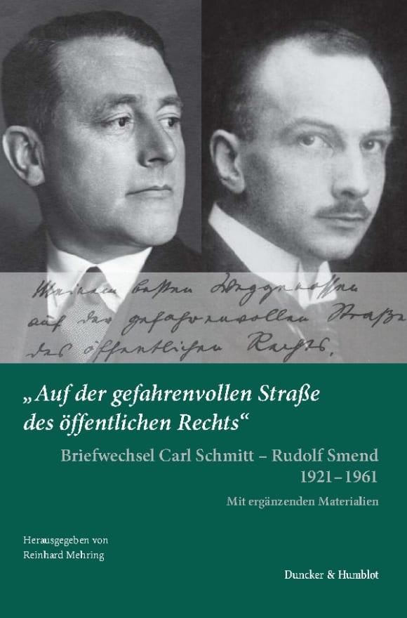 Cover »Auf der gefahrenvollen Straße des öffentlichen Rechts«