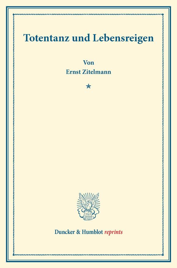 Cover Totentanz und Lebensreigen