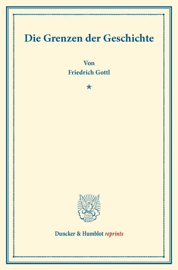 Cover Die Grenzen der Geschichte