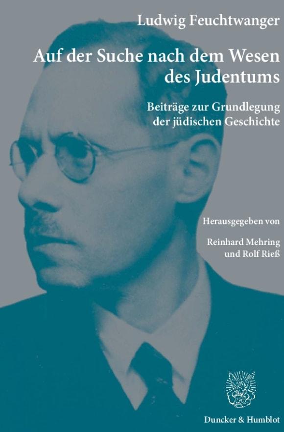 Cover Auf der Suche nach dem Wesen des Judentums