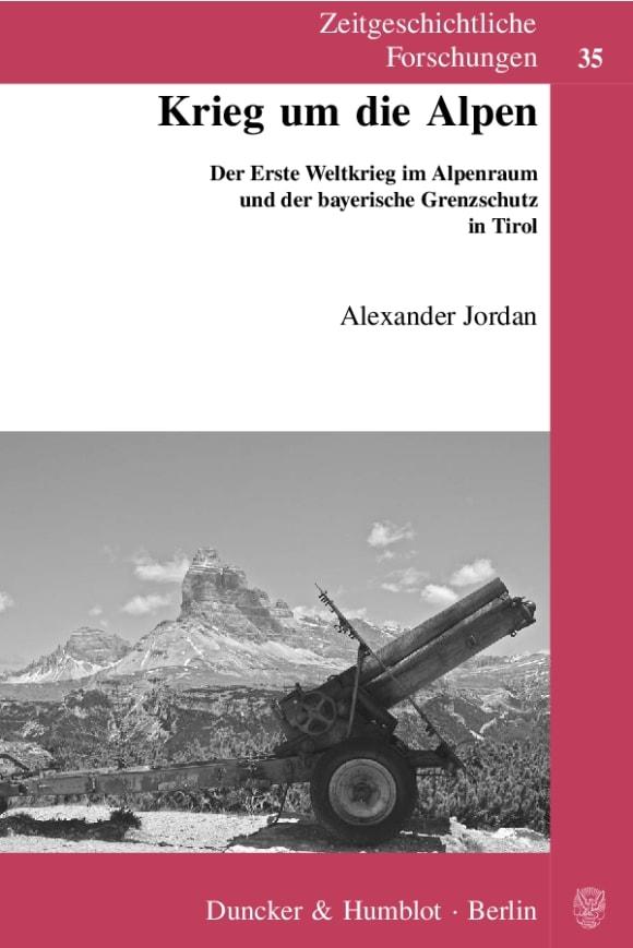 Cover Krieg um die Alpen