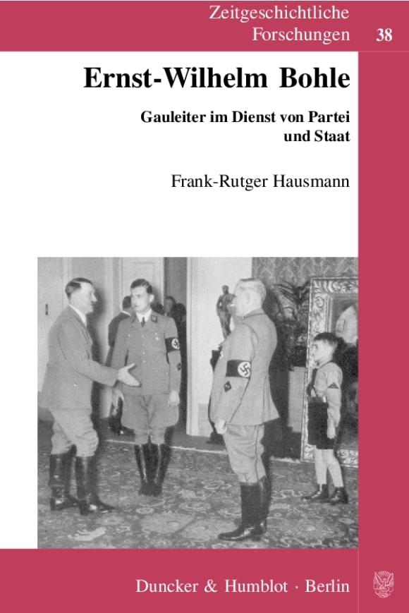 Cover Ernst-Wilhelm Bohle