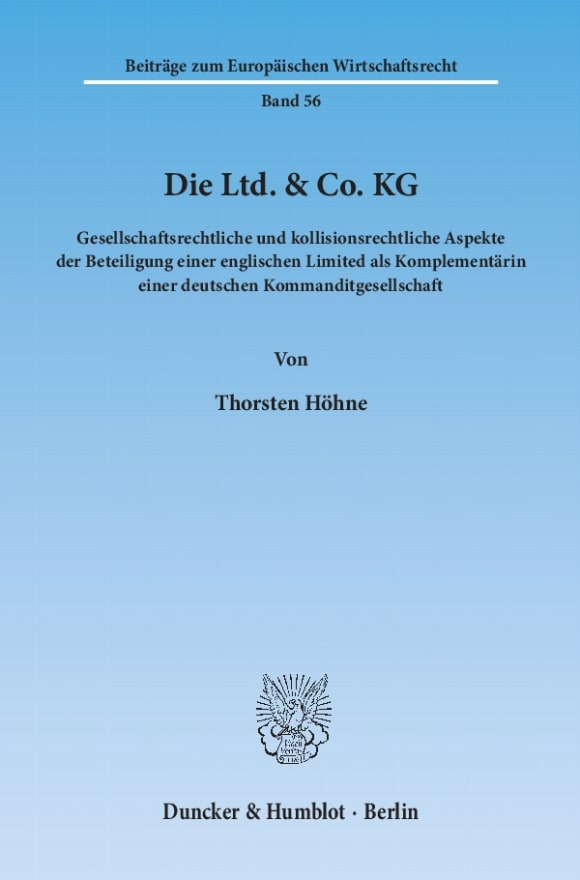 Cover Die Ltd. & Co. KG