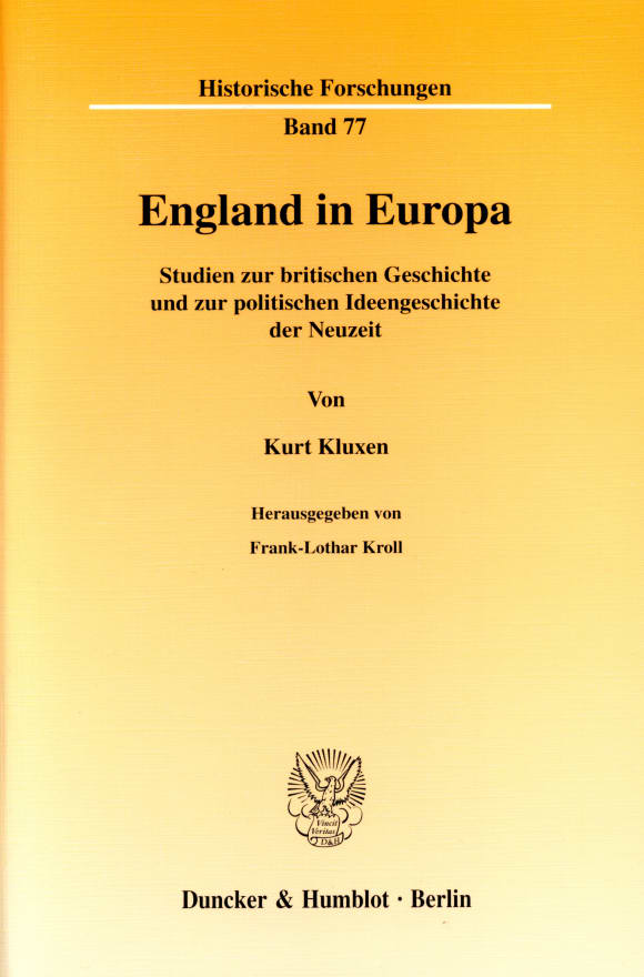 Cover England in Europa