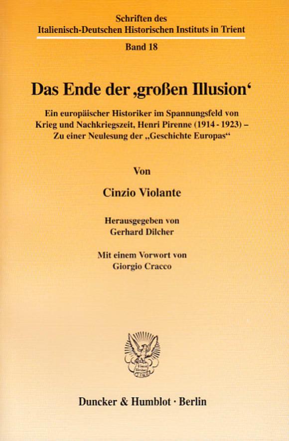 Cover Das Ende der ›großen Illusion‹