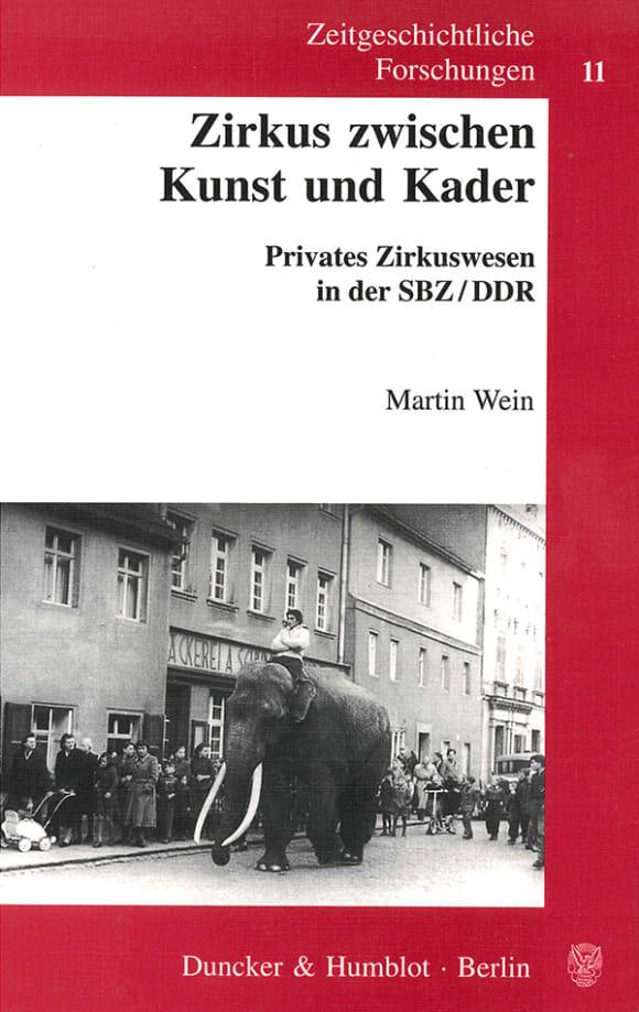 Cover Zirkus zwischen Kunst und Kader