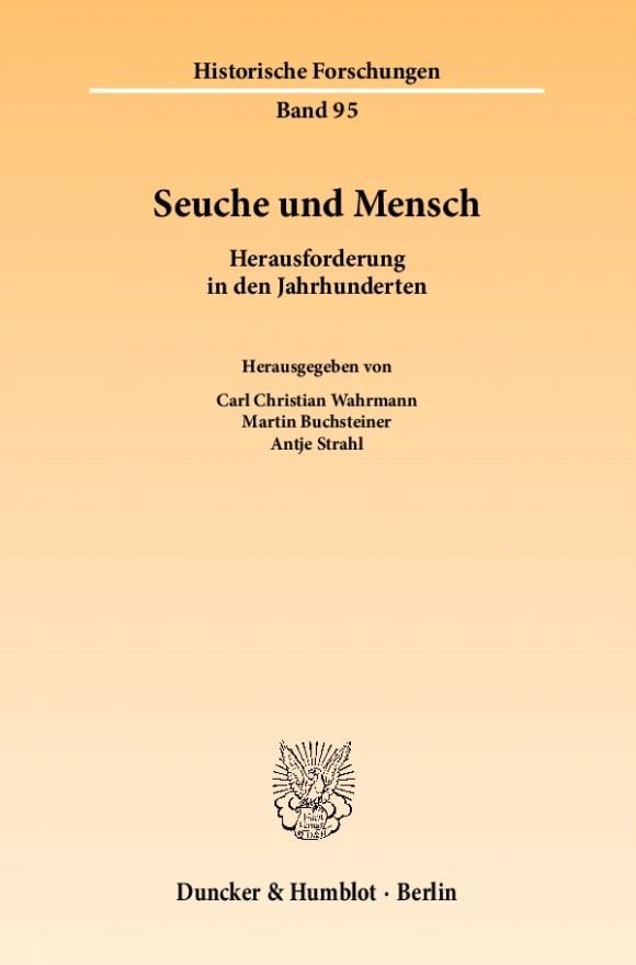 Cover Seuche und Mensch