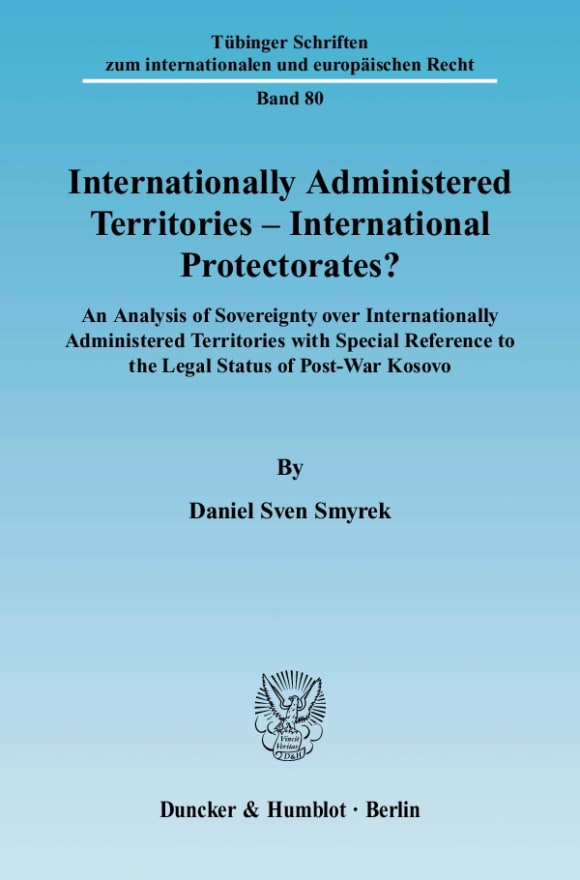 Cover Internationally Administered Territories – International Protectorates?