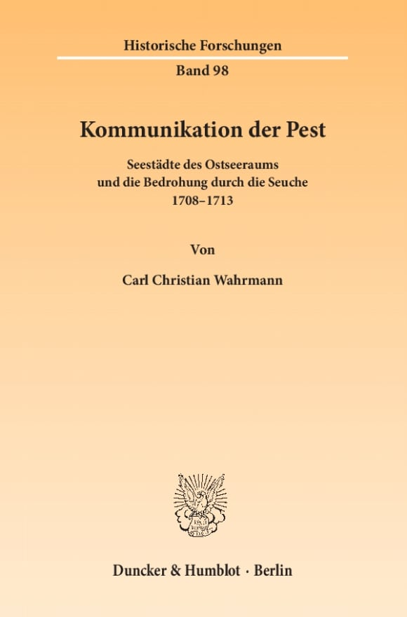 Cover Kommunikation der Pest