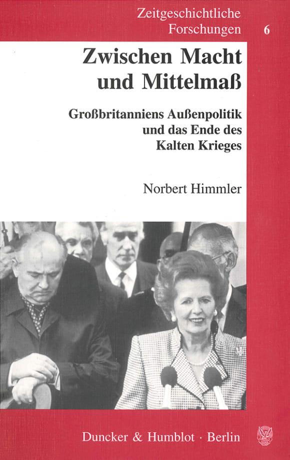 Cover Zwischen Macht und Mittelmaß