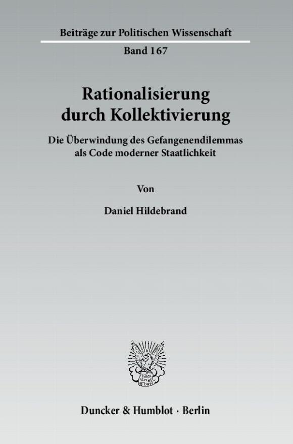 Cover Rationalisierung durch Kollektivierung