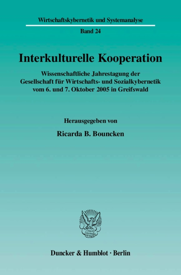 Cover Interkulturelle Kooperation