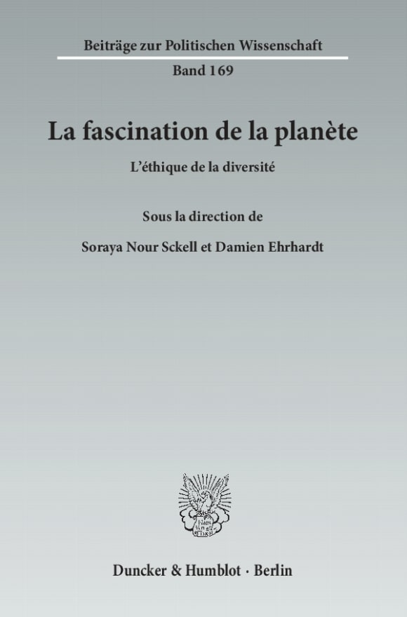 Cover La fascination de la planète