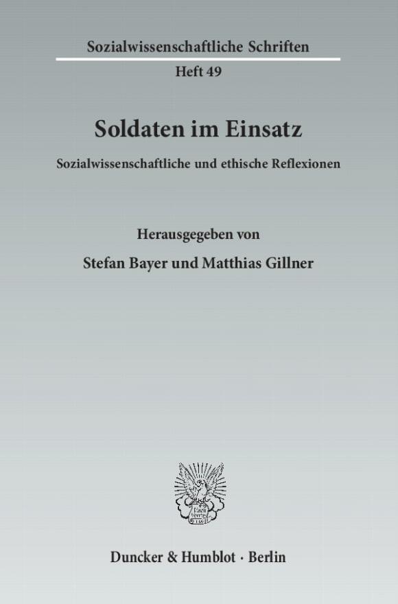 Cover Soldaten im Einsatz