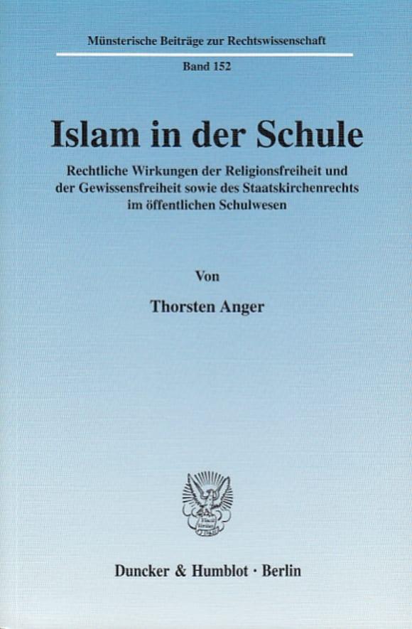 Cover Islam in der Schule