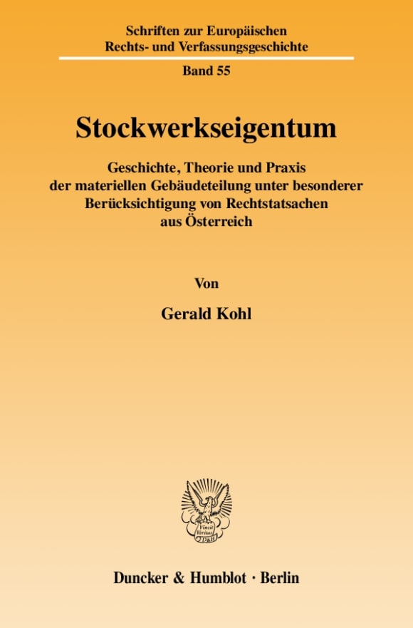Cover Stockwerkseigentum
