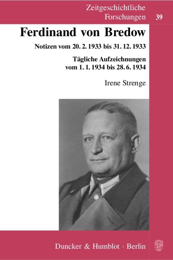 Cover Ferdinand von Bredow