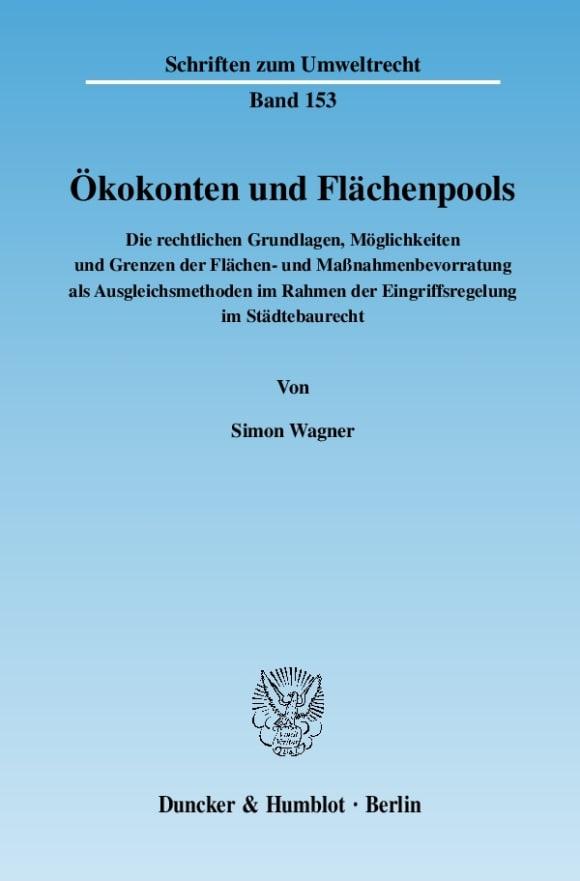 Cover Ökokonten und Flächenpools