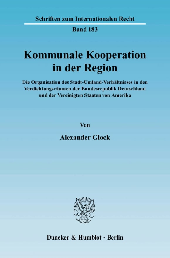 Cover Kommunale Kooperation in der Region