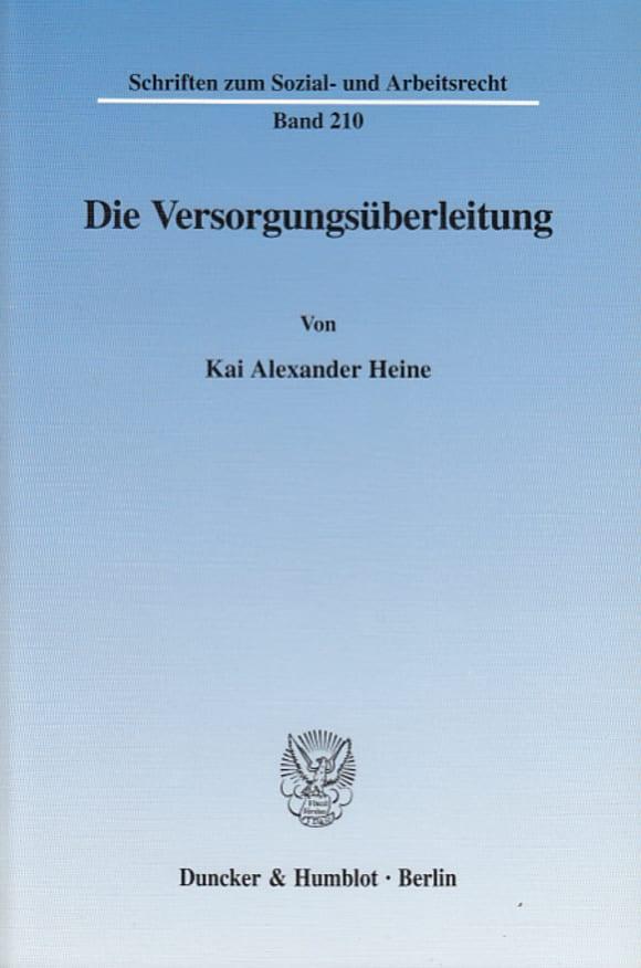 Cover Die Versorgungsüberleitung