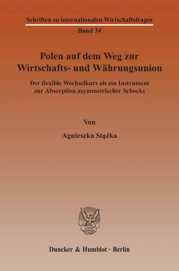 Cover Schriften zu internationalen Wirtschaftsfragen (IWF)