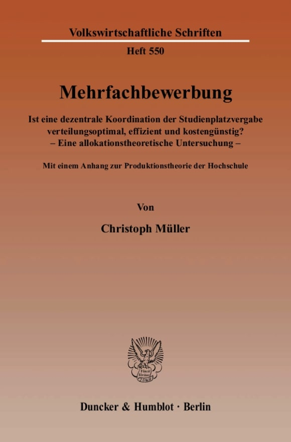 Cover Mehrfachbewerbung