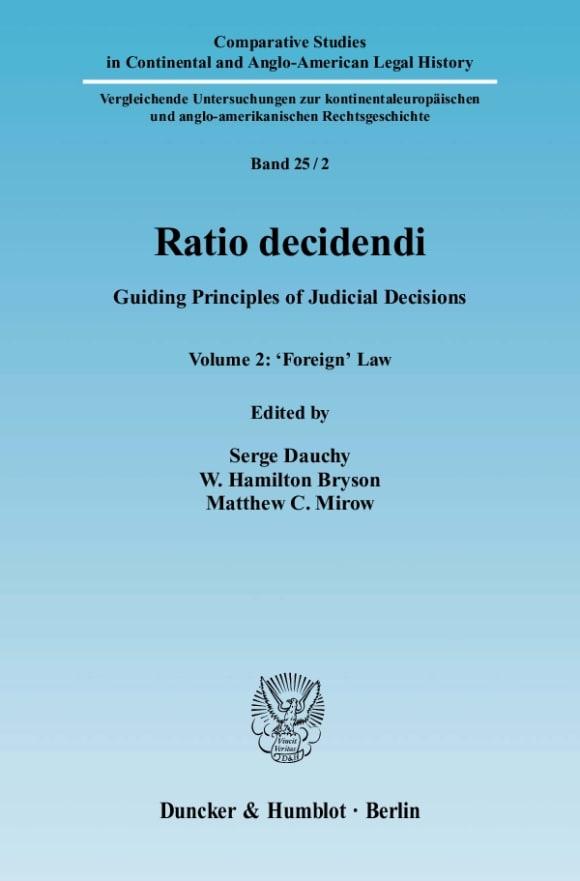 Cover Ratio decidendi