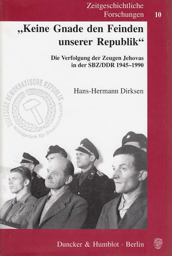 Cover »Keine Gnade den Feinden unserer Republik«