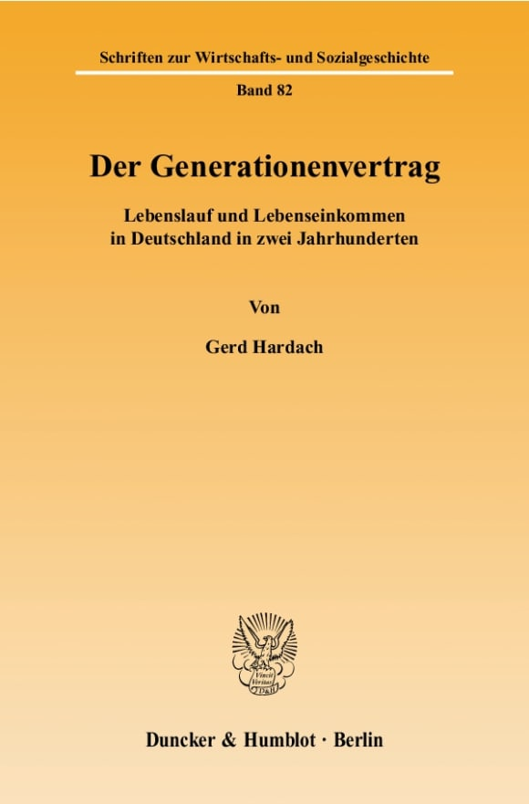 Cover Der Generationenvertrag