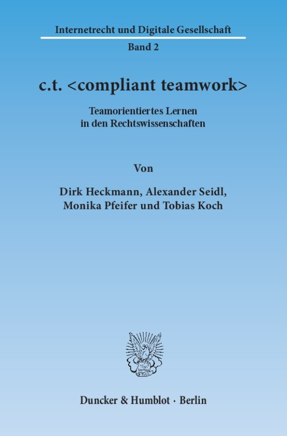 Cover c.t. <compliant teamwork>