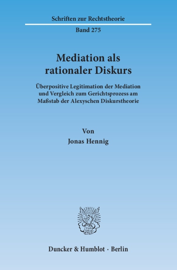 Cover Mediation als rationaler Diskurs