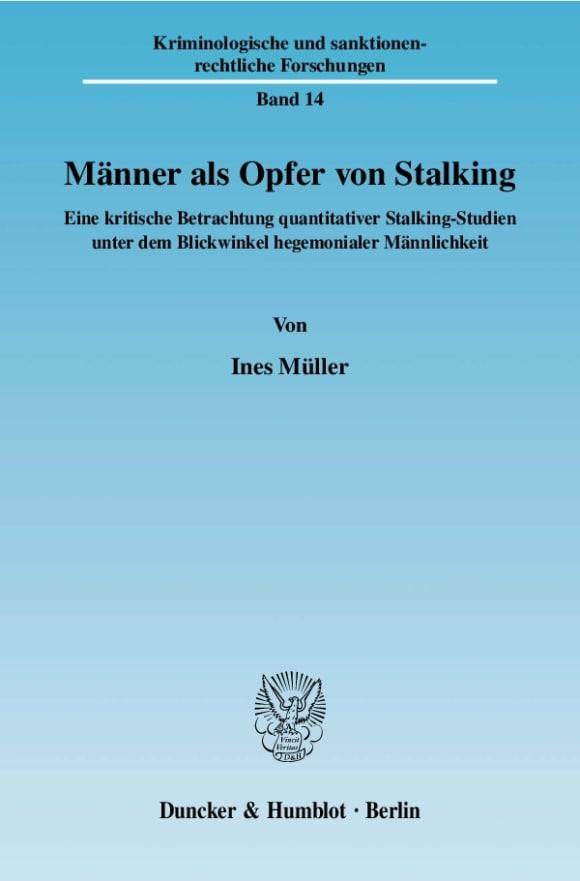 Cover Männer als Opfer von Stalking
