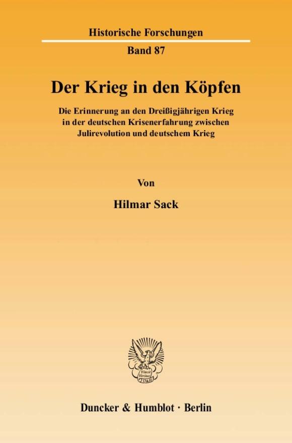 Cover Der Krieg in den Köpfen