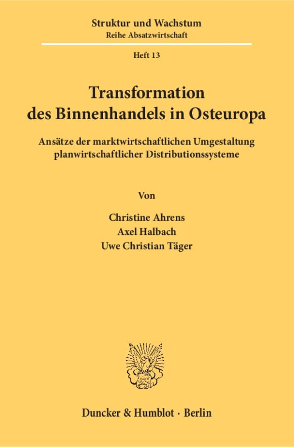 Cover Transformation des Binnenhandels in Osteuropa