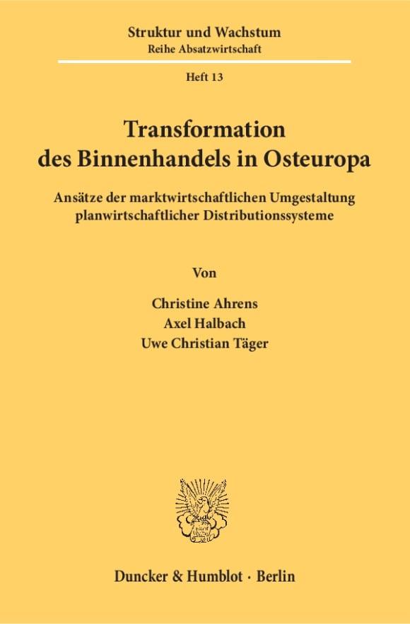 Cover Transformation des Binnenhandels in Osteuropa