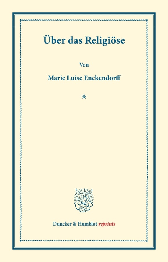 Cover Über das Religiöse