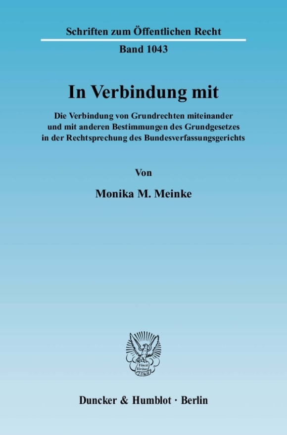 Cover In Verbindung mit
