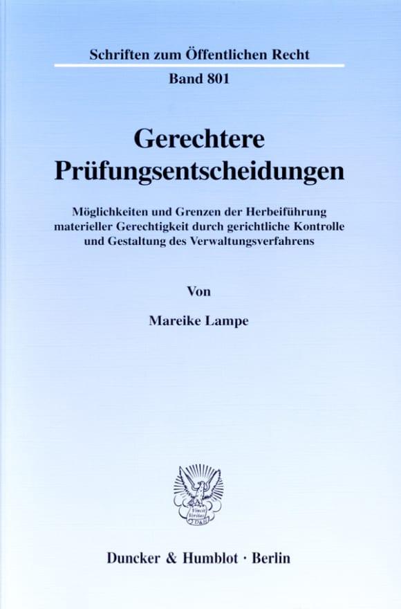 Cover Gerechtere Prüfungsentscheidungen